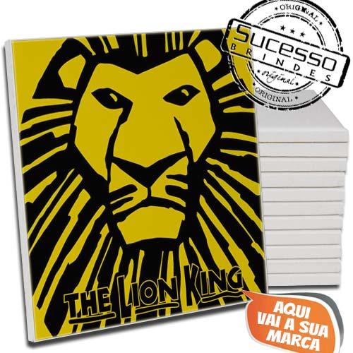 Azulejo Personalizado com Personagem da peça de Teatro O Rei Leão