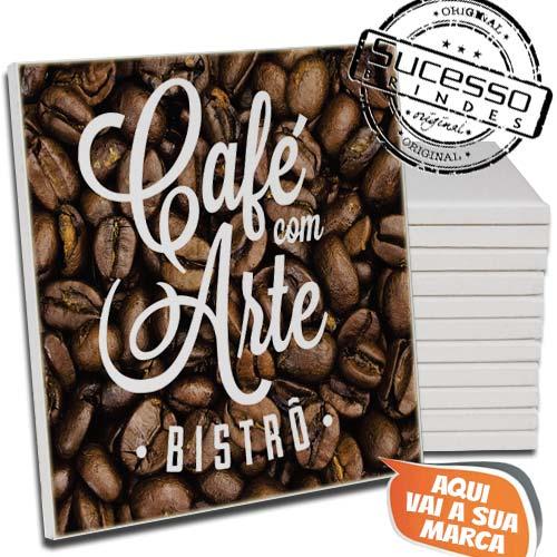 Azulejo Personalizado com Arte Café