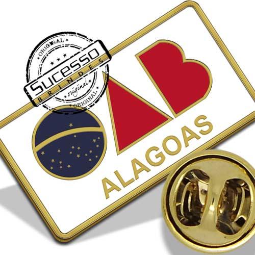Broche da OAB - Alagoas