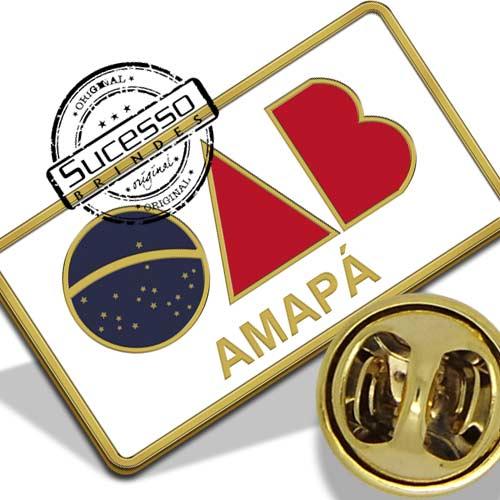 Pin da Ordem dos Advogados do Brasil - Amapá