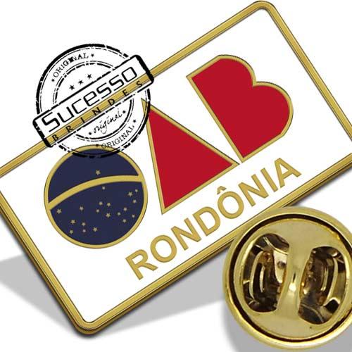 Broche da Ordem dos Advogados do Brasil - Rondônia