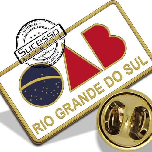 Pin OAB Personalizado - Rio Grande do Sul