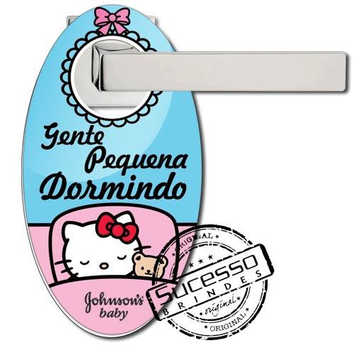Aviso de porta ou placa para porta personalizada