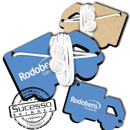 Porta Fone de Ouvido Personalizado com sua marca.