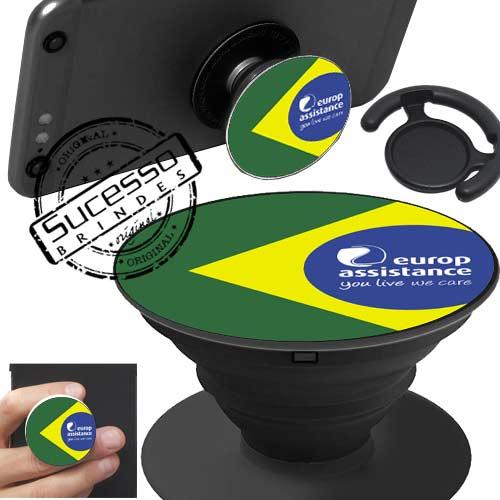 Popsockets, pop socket, pop socket para celular, suporte para celular, base para celular, apoio para celular, bandeira, brasil.