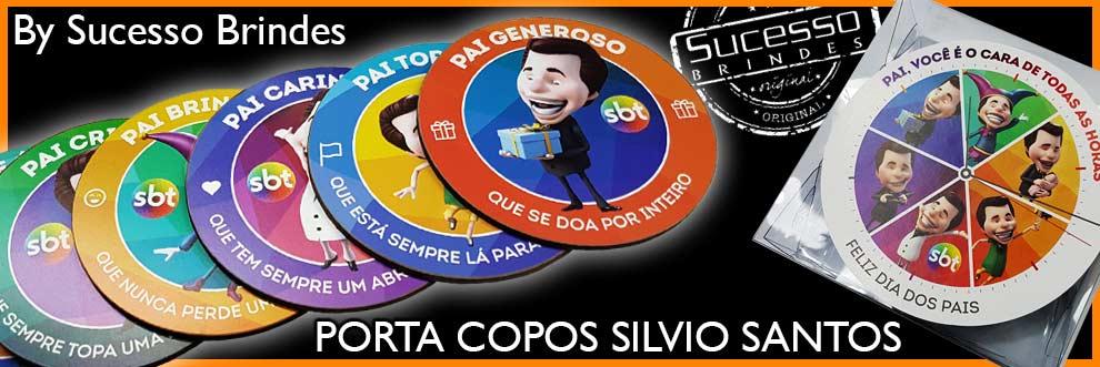 PORTA-COPOS-SILVIO-SANTOS-PERSONALIZADO-SUCESSO-BRINDES