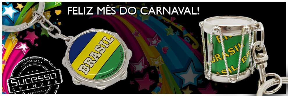 FELIZ-MÊS-DO-CARNAVAL-SUCESSO-BRINDES-CHAVEIRO-INSTRUMENTO-MUSICAL