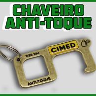 Chaveiro Anti-Toque Corona Key Vírus